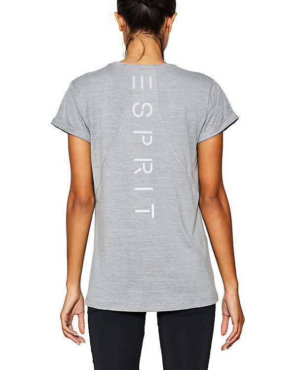 T ESPRIT Sports grau Shirt ESPRIT Sports TfHn5wxH