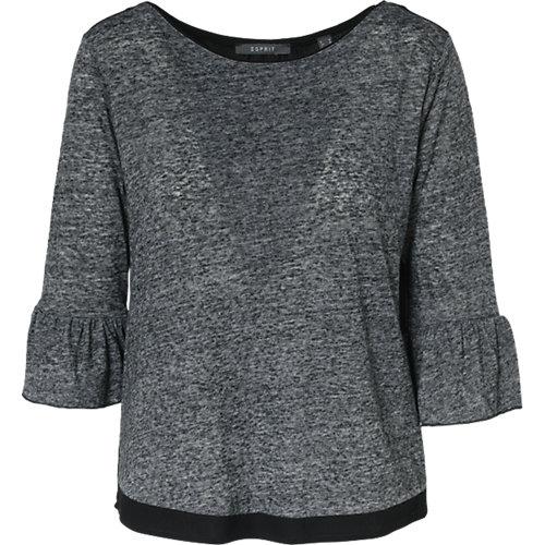 ESPRIT collection T-Shirt grau Damen Gr. 42