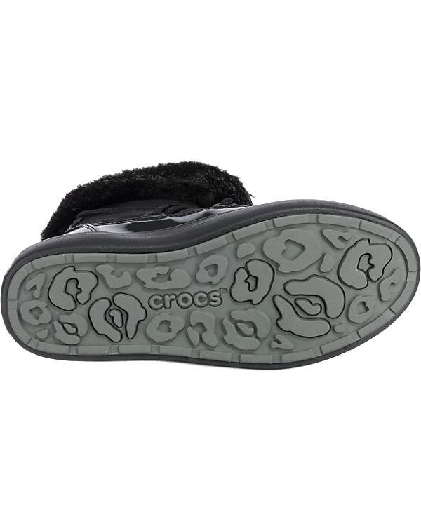 crocs, CROCS CROCS CROCS Lodgepoint Stiefel, schwarz 576581