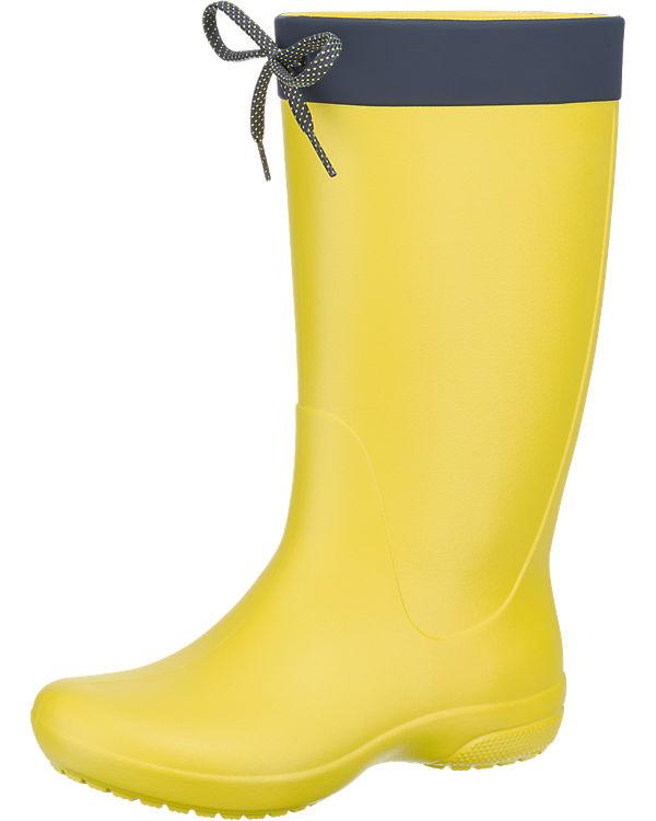 crocs CROCS Freesail Stiefel gelb Freies Verschiffen Auslass OUorzpQeS