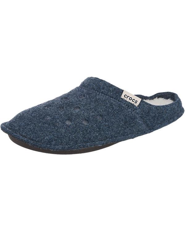 Nnvy Oat Classic dunkelblau crocs Pantoffeln Slipper pq8HygR