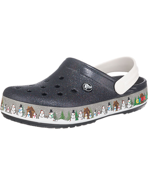 crocs CROCS Crocband Holiday Clogs schwarz