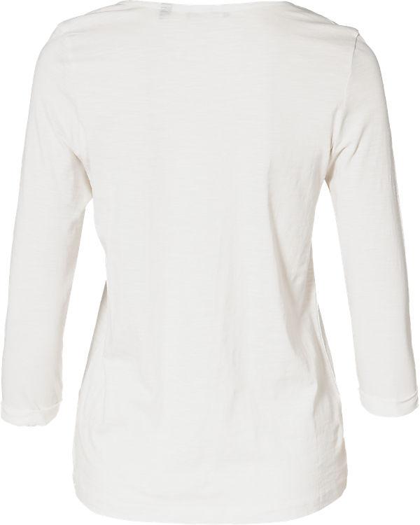 blue 3/4-Arm-Shirt offwhite