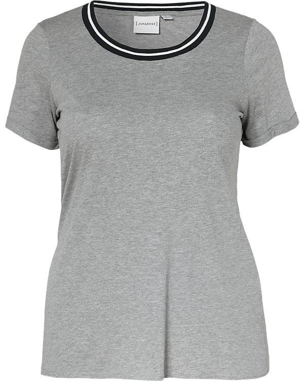 JUNAROSE T-Shirt grau