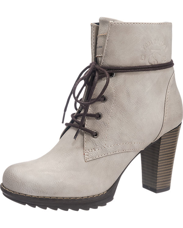 TOM TAILOR TOM TAILOR Stiefeletten offwhite