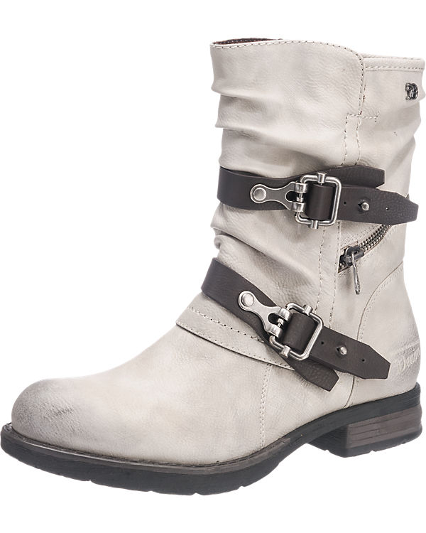 TOM TAILOR TOM TAILOR Stiefel offwhite
