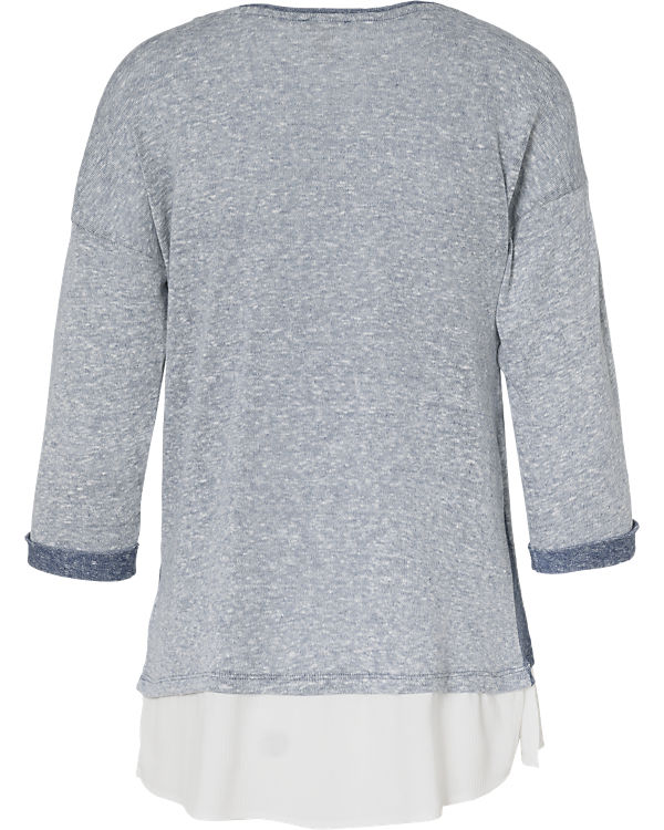 ESPRIT 3/4-Arm-Shirt hellblau