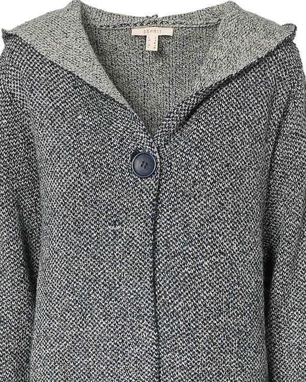 ESPRIT Strickmantel dunkelblau Billig Verkauf Online-Shopping  Online-Verkauf Brandneue Unisex Online Rabatt Finish zjapSHZiGI