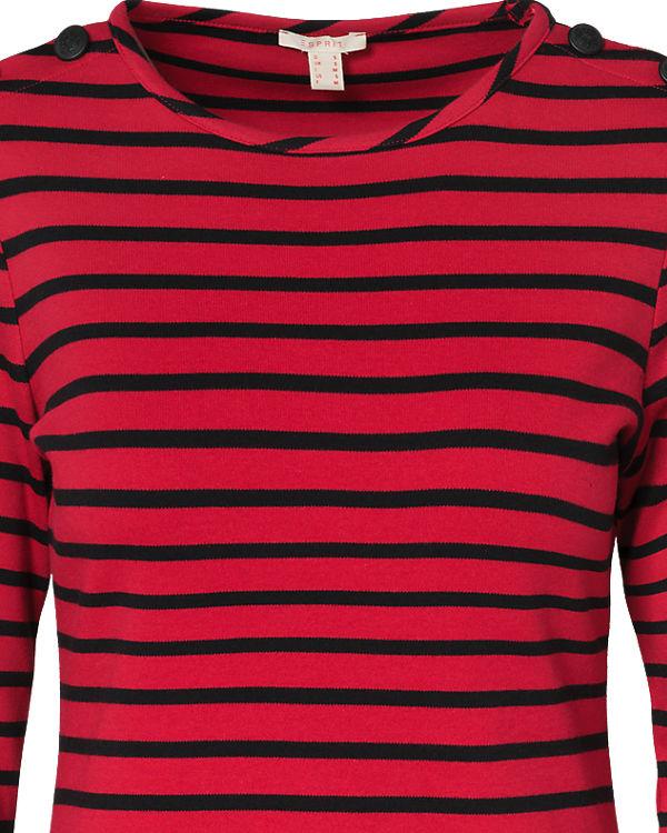 Shirt Arm ESPRIT 3 4 rot Fw0aSqXt