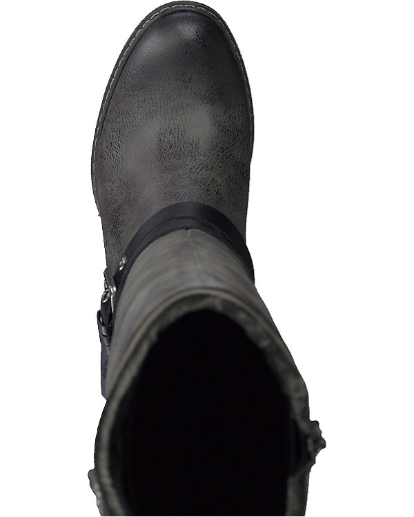 schwarz TOZZI Stiefel TOZZI MARCO MARCO B8IqwF