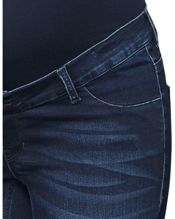 ESPRIT for mums Umstandsjeans slim dark blue denim