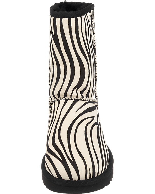 UGG Exotic Classic schwarz Short UGG Stiefeletten OxOrw0aq