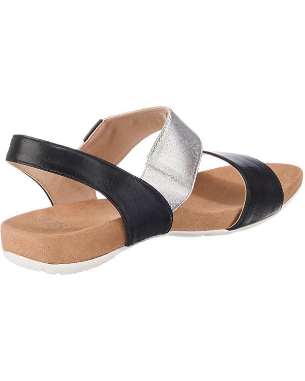 CAPRICE CAPRICE Sandaletten schwarz-kombi