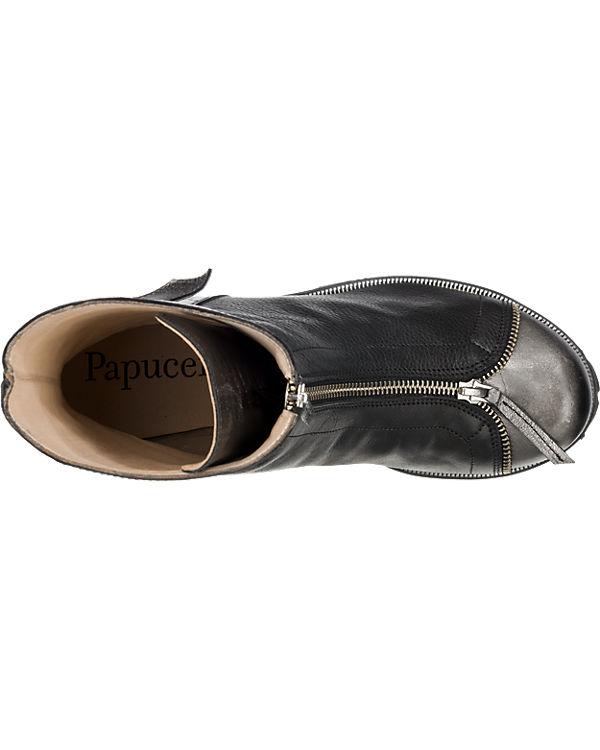 Online-Shop Papucei Papucei Devon Stiefeletten schwarz-kombi Frei Versendende Qualität Niedriger Preis Günstig Kaufen Neueste hd7GqSU