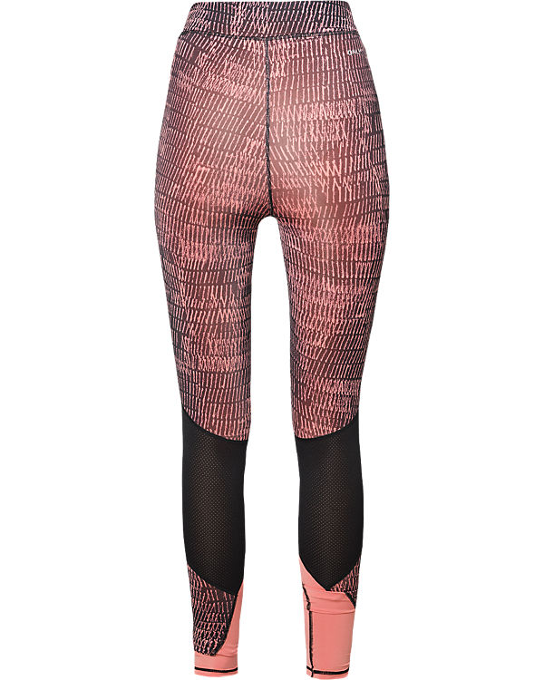 Only Play Sport Tights schwarz/rot