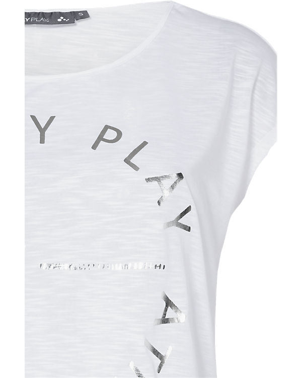 Only Play T-Shirts weiß