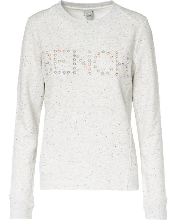 BENCH Sweatshirt weiß