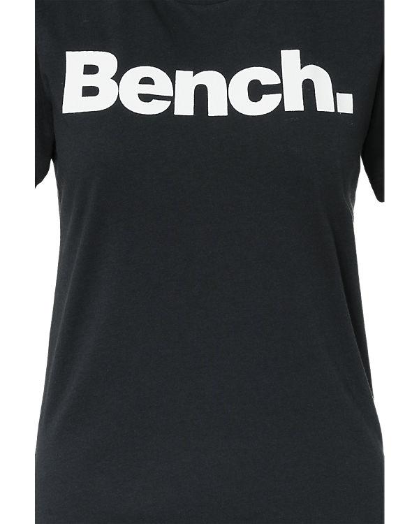 BENCH T-Shirt schwarz