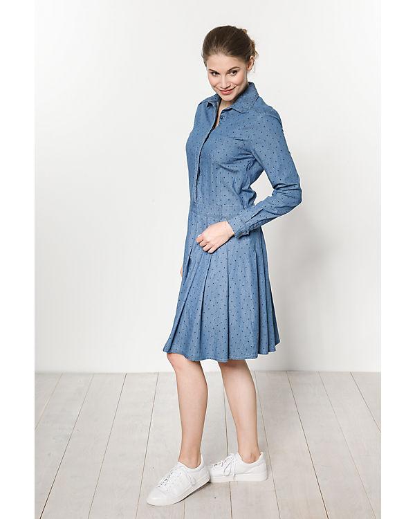 Pepe Jeans Kleid Tasia blau Billig Kaufen Rabatt Fabrikverkauf ZTq1ap