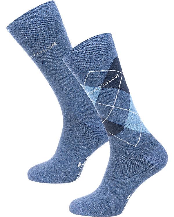 TOM Paar hellblau TAILOR Socken 2 rw6vrq7