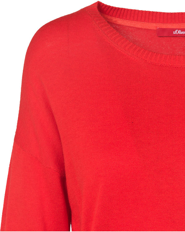 s.Oliver Pullover rot