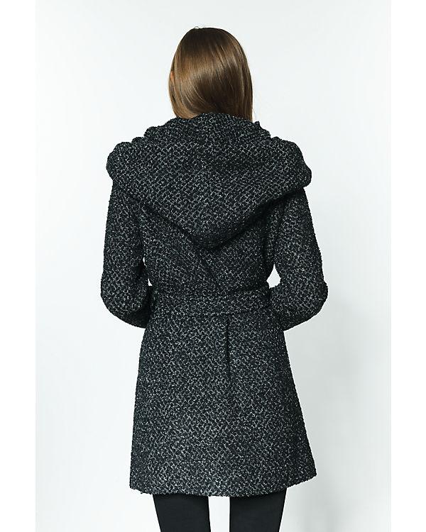 schwarz Mantel Mantel VILA schwarz Mantel VILA VILA nO7FYa