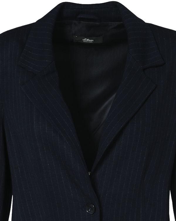 LABEL Blazer blau BLACK s Oliver wvqRCRP