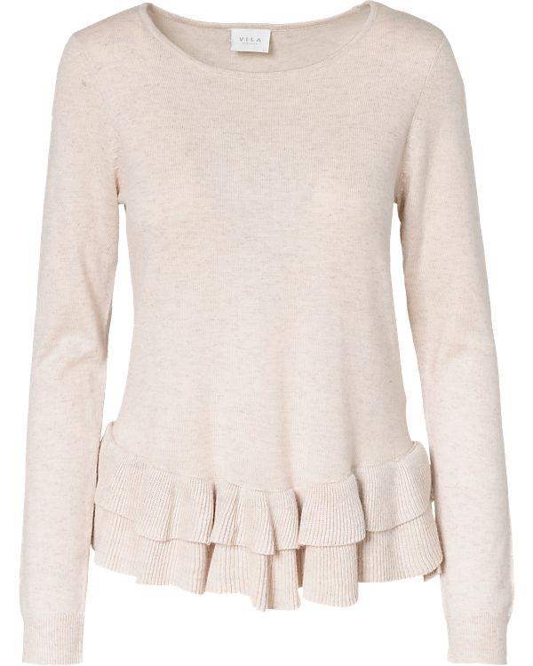 VILA Pullover beige