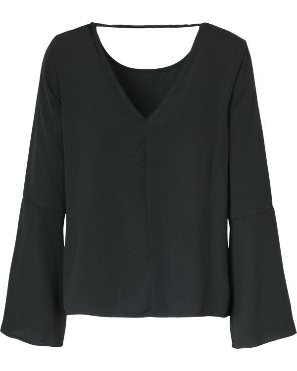Bluse schwarz VILA schwarz Bluse VILA qvwSHwFZ