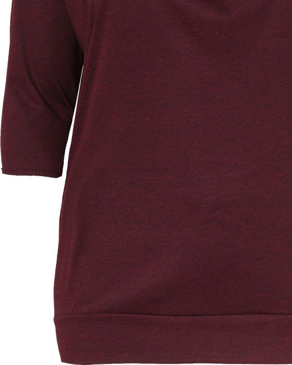 Shirt Arm JUNAROSE dunkelrot 3 4 fqcSY
