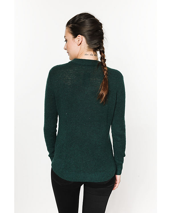 pieces Pullover grün