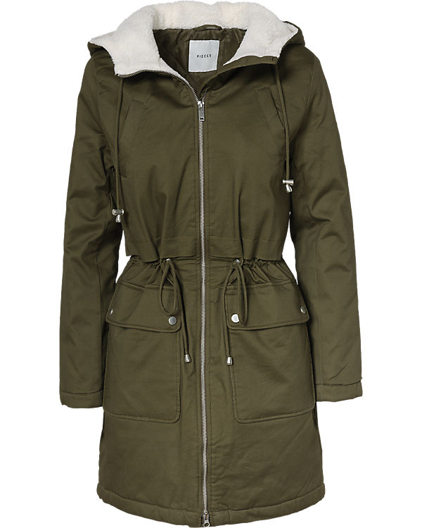 Parka pieces Parka grün pieces pieces grün Parka pieces grün Parka grün 8qwOyS5