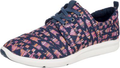 TOMS Del Rey Sneakers, rot, rot-kombi