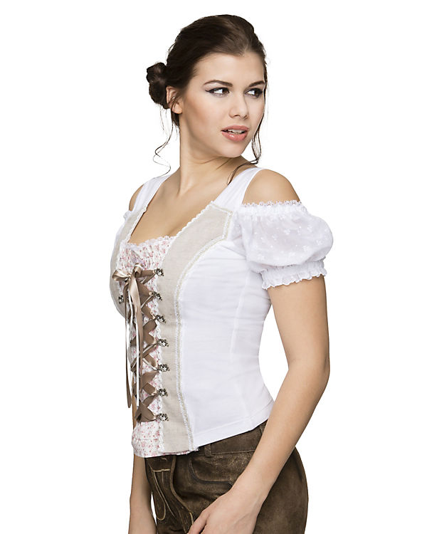 Stockerpoint Shirt Milena weiß