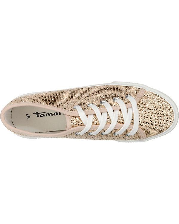 Tamaris Tamaris Sneakers gold