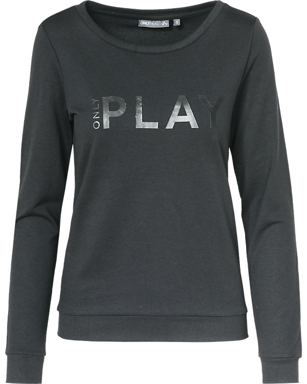 Only Play Sweatshirt schwarz