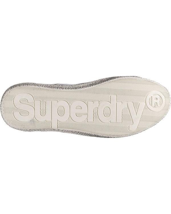 Superdry, Super Superdry Super Superdry, Sleek Logo Sneakers, bronze 2a68fa