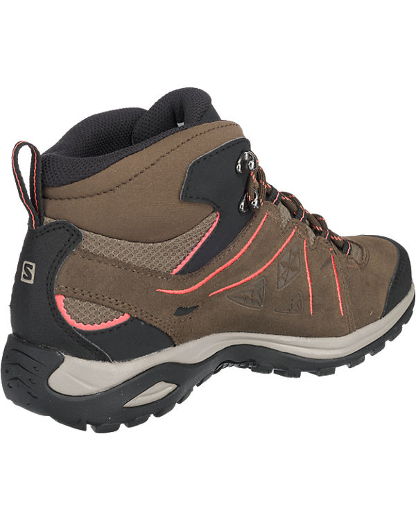 Salomon Salomon Ellipse 2 Mid Leather Gtx® Stiefeletten dunkelgrün