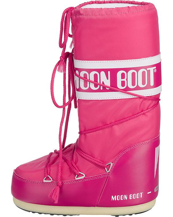 Moonboot, Moonboot Nylon Stiefel, pink pink pink 2ef7c3