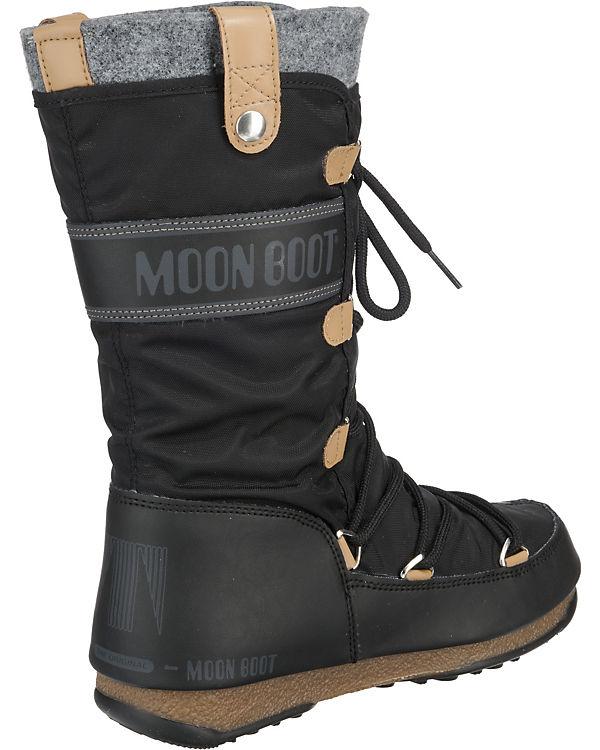 Moonboot Moonboot Monaco Stiefel schwarz