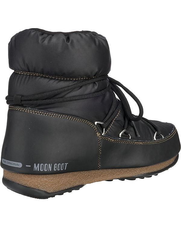 Nylon Low Boot schwarz Winterstiefel E Moon WP W Moonboot Xw1pUI