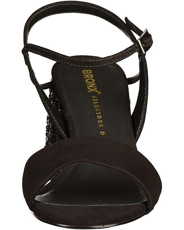 BRONX BRONX Sandalen schwarz