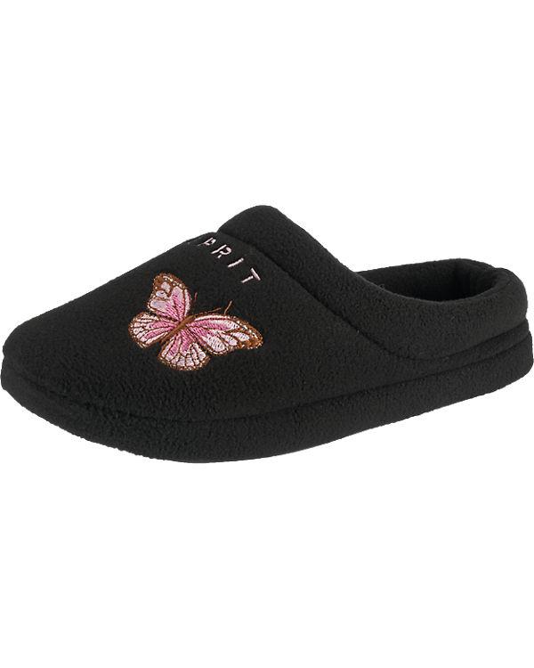 ESPRIT ESPRIT Butterfly Hausschuhe schwarz
