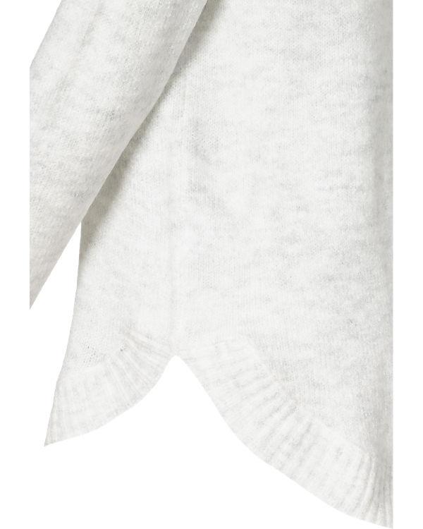 weiß VILA VILA Rollkragenpullover grau Rollkragenpullover B6Ctxn