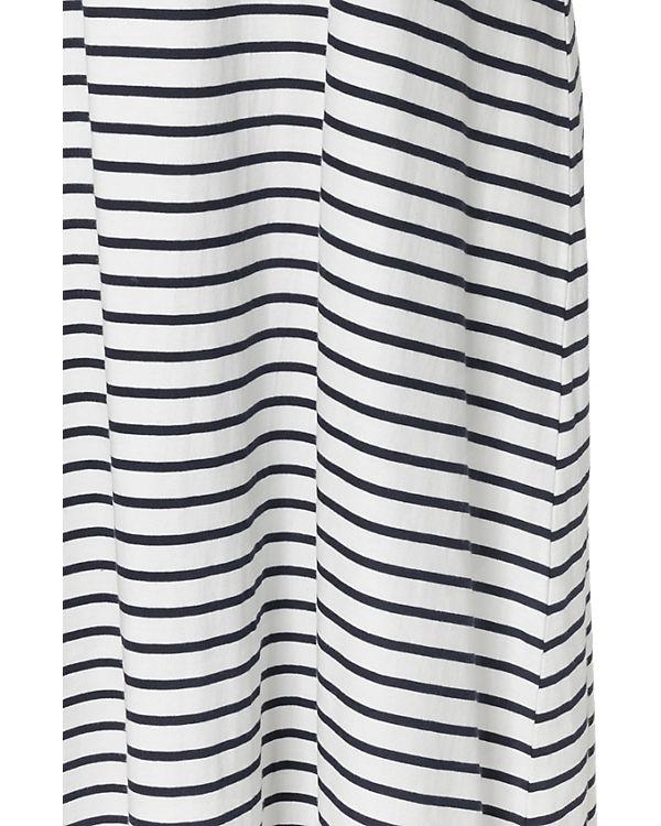 Zizzi Kleid blau/weiß