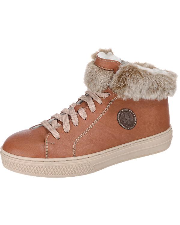 rieker rieker rieker rieker braun Sneakers Sneakers rxPwqdpr