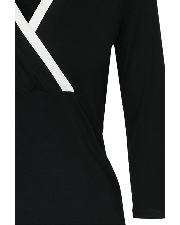 Anna 3 Arm schwarz 4 weiß Field Shirt x6rUwx