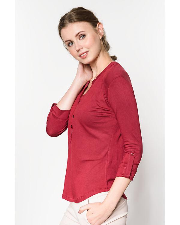 Anna Field 3/4-Arm-Shirt bordeaux
