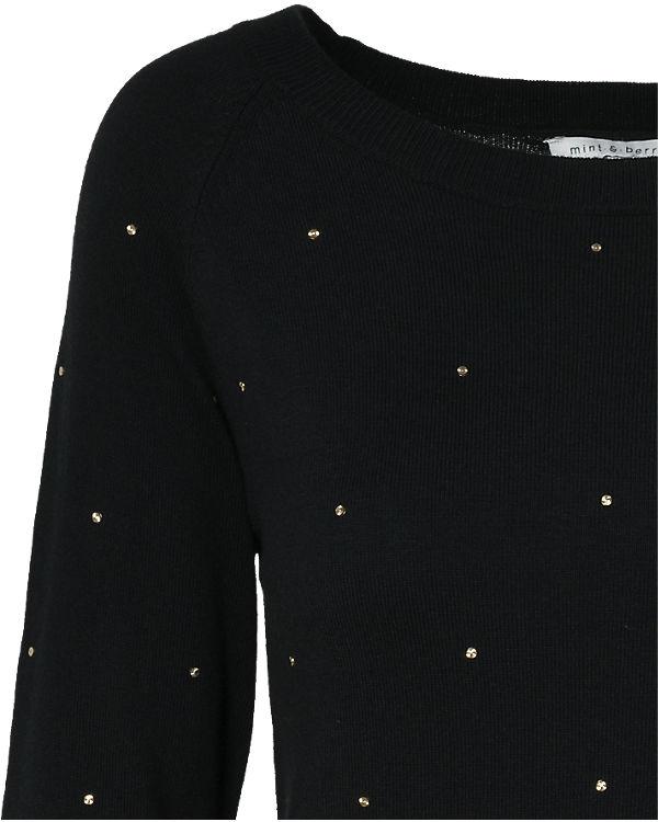 mint&berry Pullover schwarz