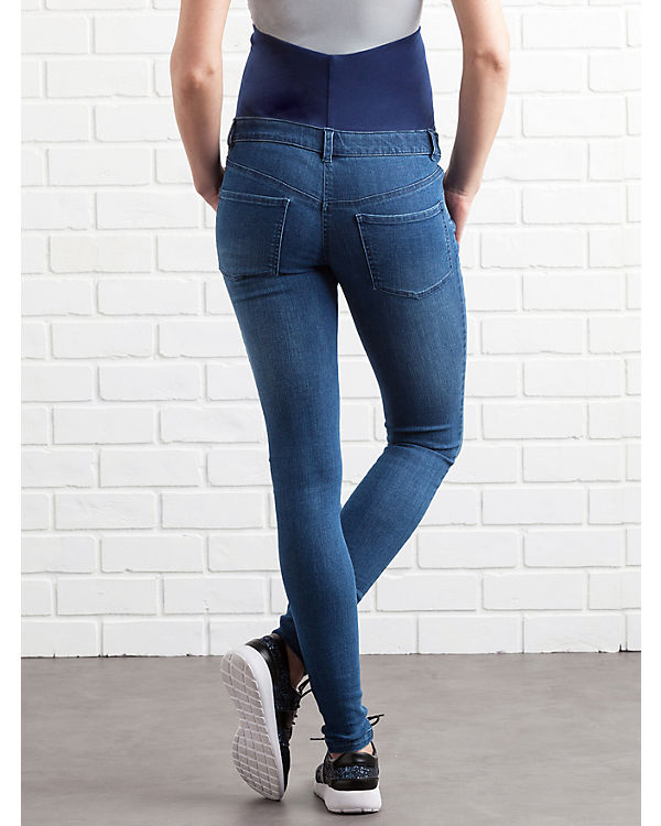 Colline Umstandsjeans skinny blue denim